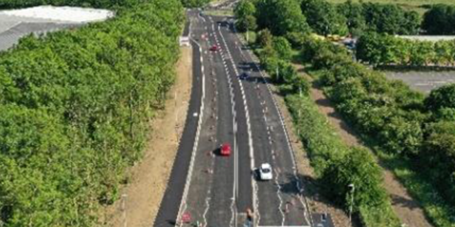 Work being carried out on Anstey Lane