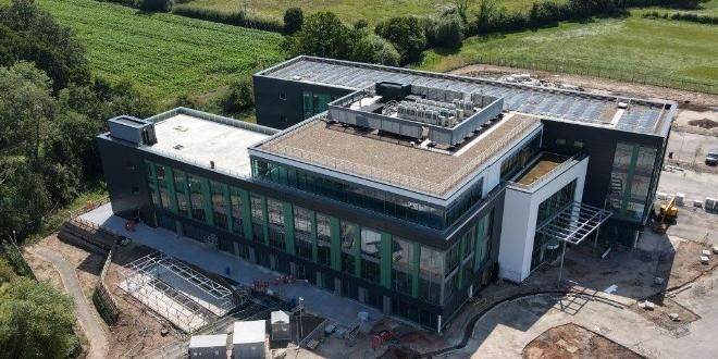 The latest picture of work ongoing on the new headquarters of the Access Group