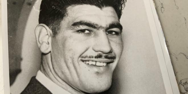 Boxer Jack Gardner, recent recipient of a Green Plaque