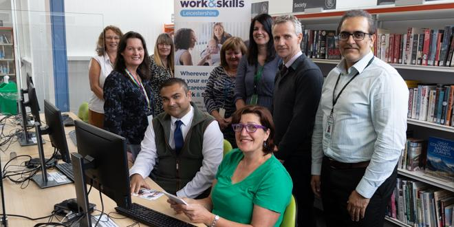Work and Skills Leicestershire launch