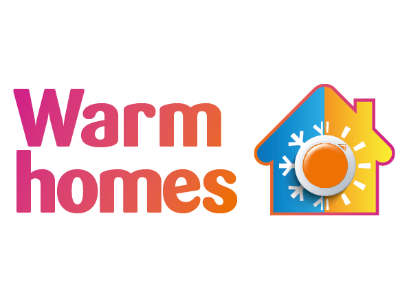 Warm homes logo